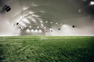 Camp at indoor pitch in Kazan, FIFA World Cup 18