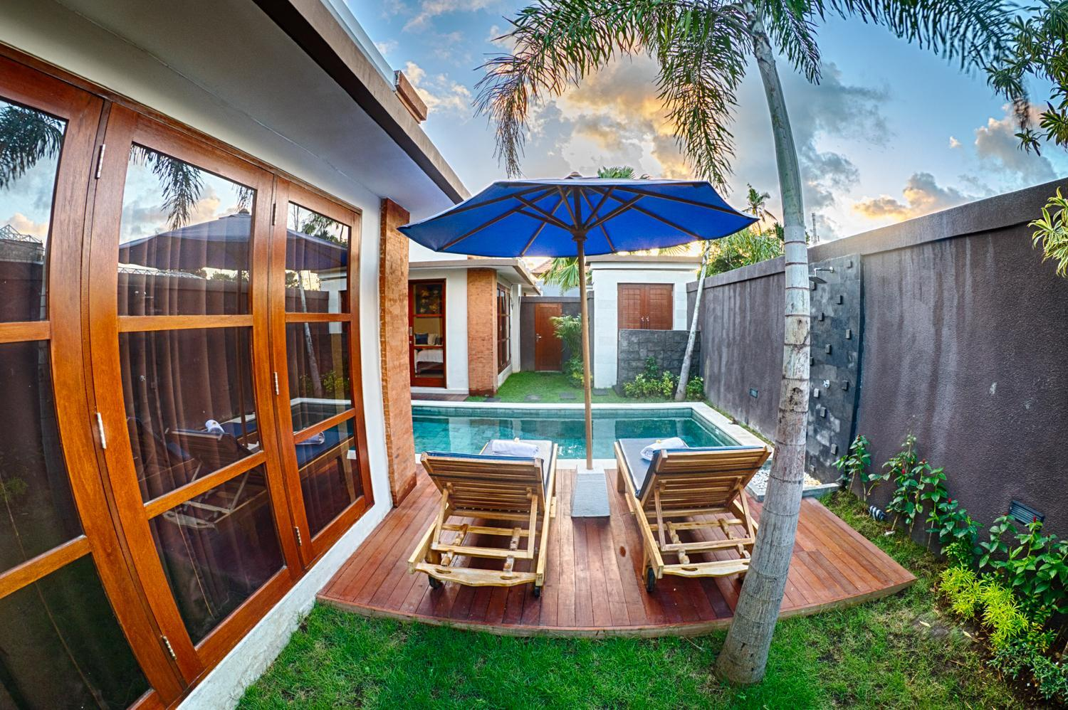 SEMINYAK NEW!! 2 BR Private Pool Villa