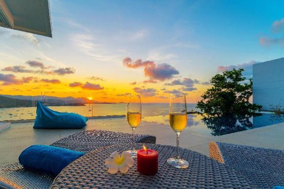 Samui Sunset Seaview Pool Villa P