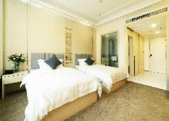 [8090] simple quality double bed apartment, Chengdu