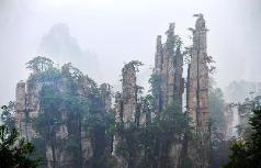 Avatar twin room, Zhangjiajie