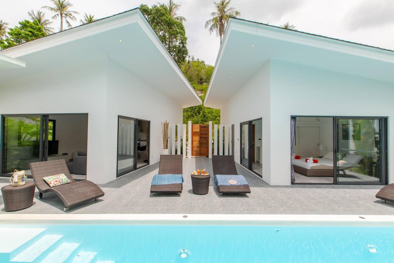 Villa Sawadee Close to the beach, Chaweng Noi วิลลา 2 ห้องนอน 2 ห้องน้ำส่วนตัว ขนาด 130 ตร.ม. – เฉวงน้อย