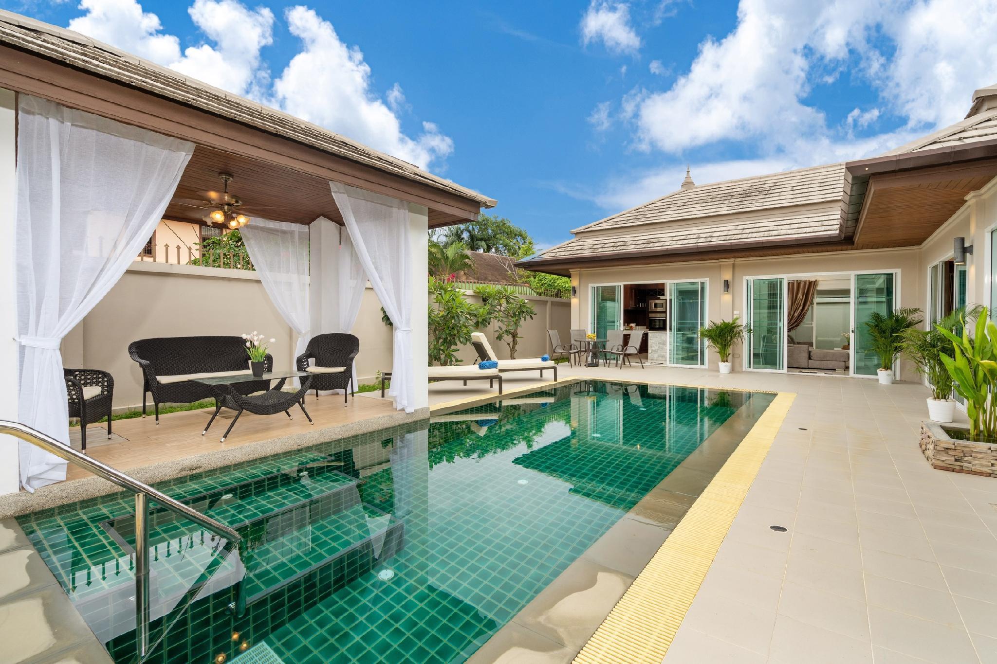 Charming private pool villa วิลลา 2 ห้องนอน 3 ห้องน้ำส่วนตัว ขนาด 290 ตร.ม. – ในหาน