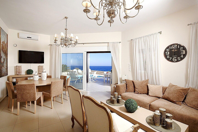Luxury Villa Blanca With Sea View