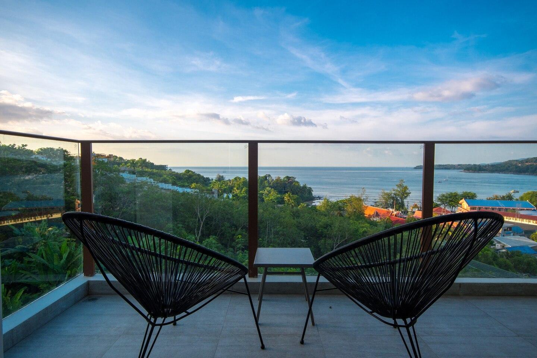 Stunning Sea Views Steps From Kamala Beach