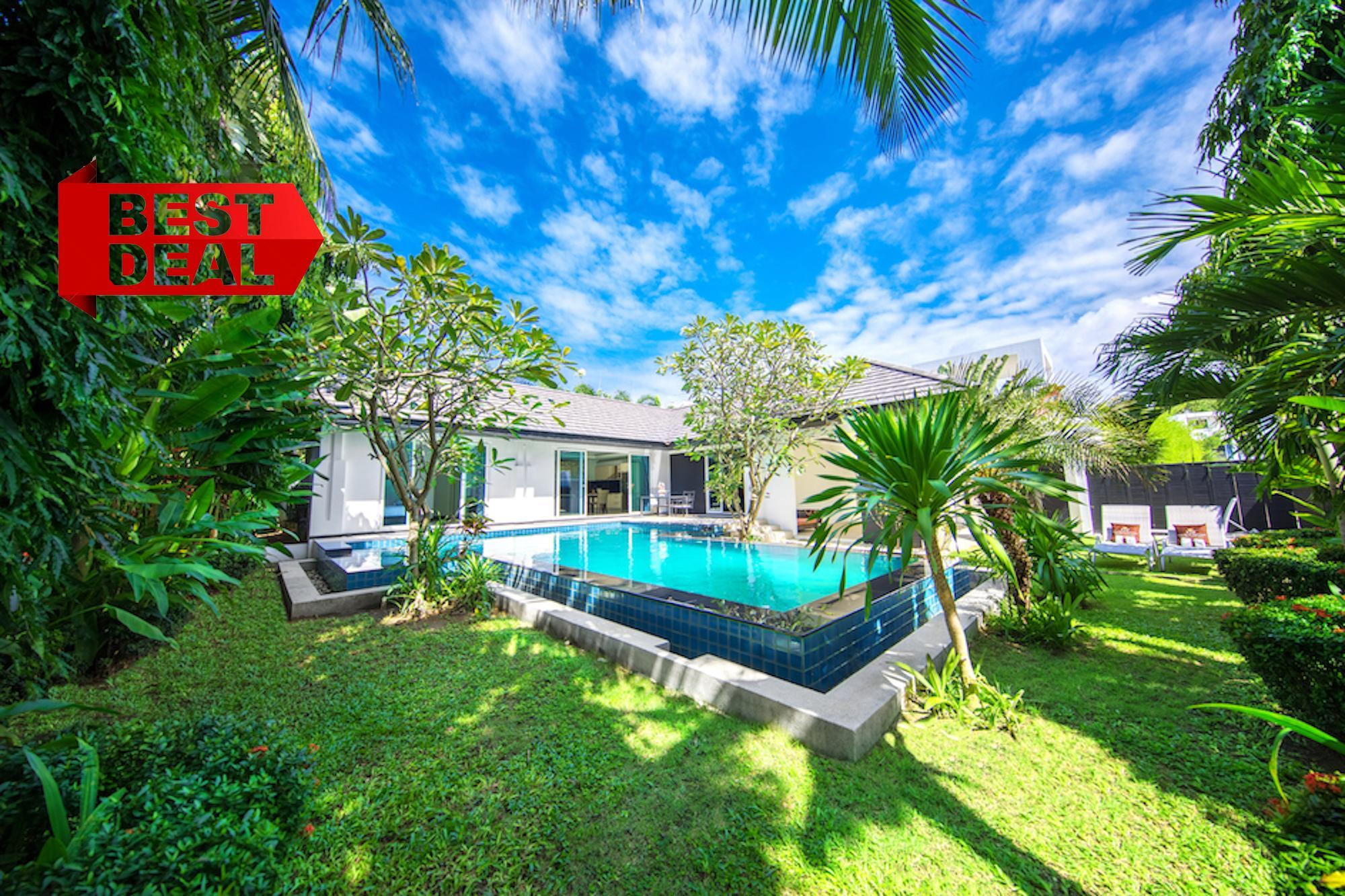 PRESIDENT Pool Villa 4 Bedroom Palm Oasis Village