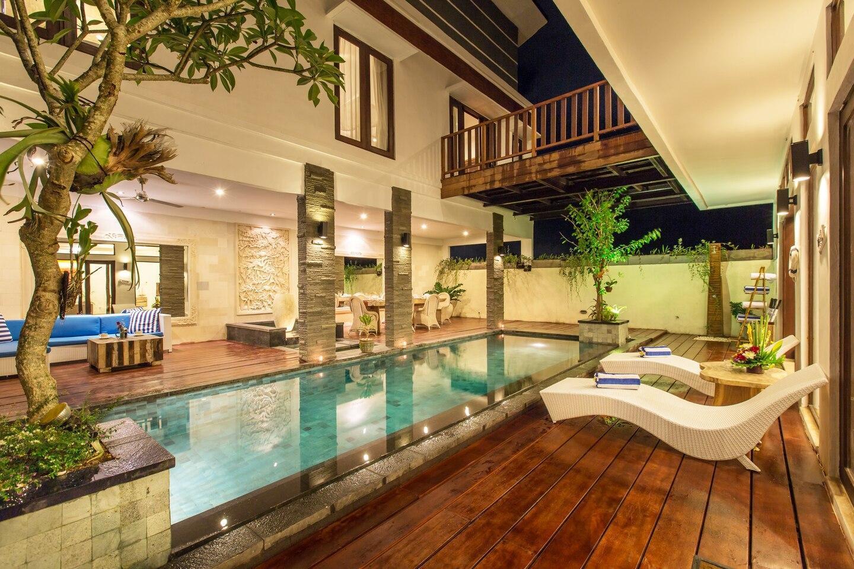 2 Bedroom Canggu Corner Villa