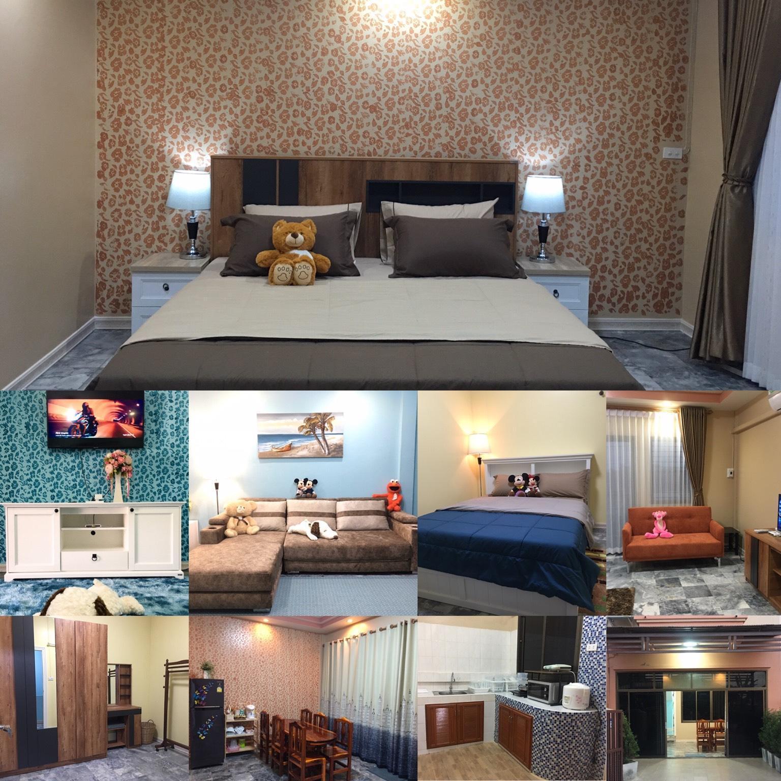 House For Rent  Day @ Sai Fon 2 Village Khon Kaen