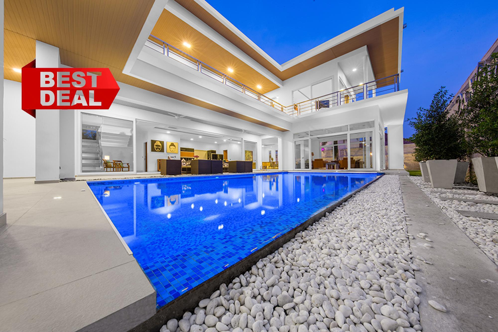 VIP DaVinci Pool Villa Pattaya 7 bedroom 7 ห้องนอน 5 ห้องน้ำส่วนตัว ขนาด 724 ตร.ม. – หาดจอมเทียน