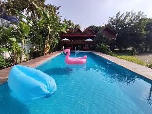 LannaThai teak house pool villa resort Luxury room 2 ห้องนอน 2 ห้องน้ำส่วนตัว ขนาด 100 ตร.ม. – หางดง