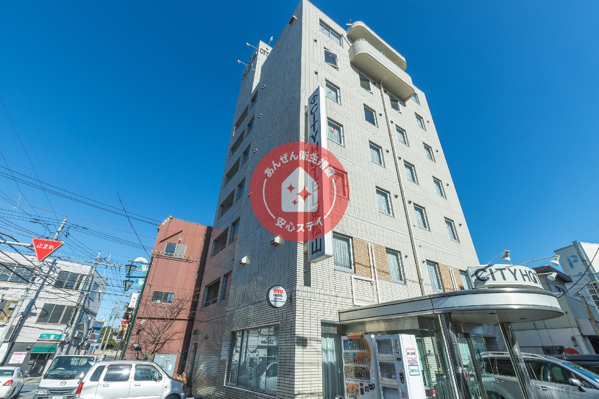 OYO City Hotel Higashimatsuyama