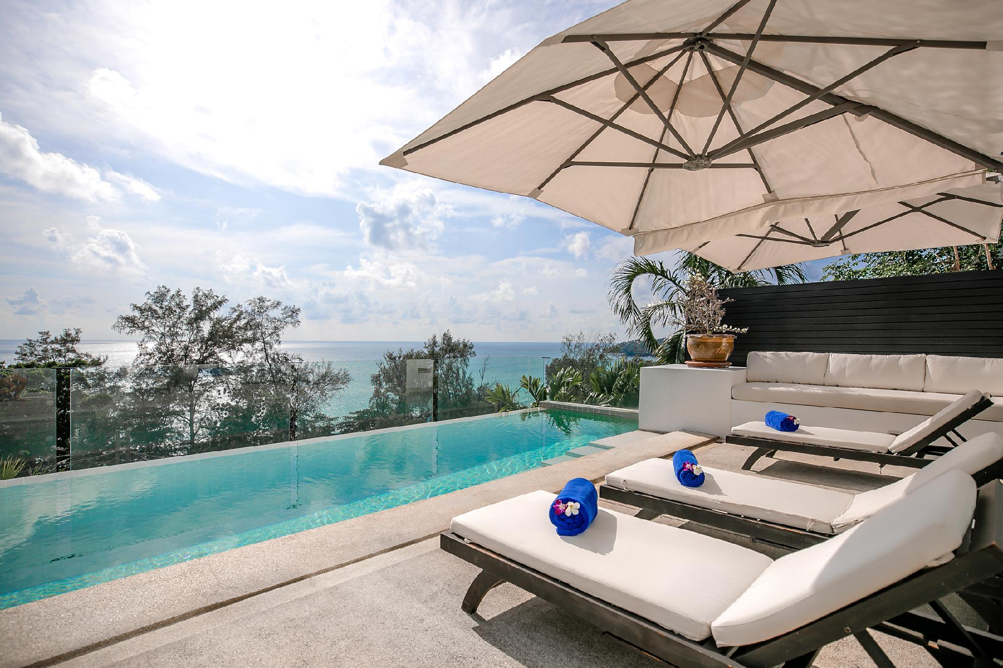 4BR Seaview Villa at Surin Beach with Private Pool