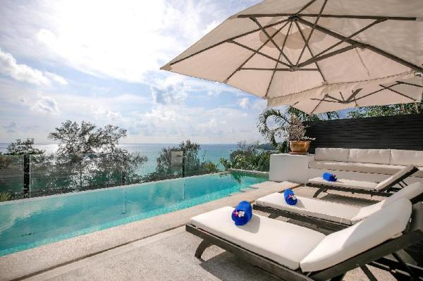 4BR Seaview Villa at Surin Beach with Private Pool Phuket
