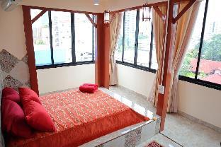Sky bedroom with a smooth life view สตูดิโอ อพาร์ตเมนต์ 1 ห้องน้ำส่วนตัว ขนาด 14 ตร.ม. – สาทร
