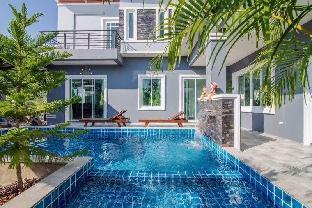 [ホアヒン市内中心地]ヴィラ(200m2)| 5ベッドルーム/5バスルーム Homely pet friendly 5BR pool villa l 15 pax - VVH7