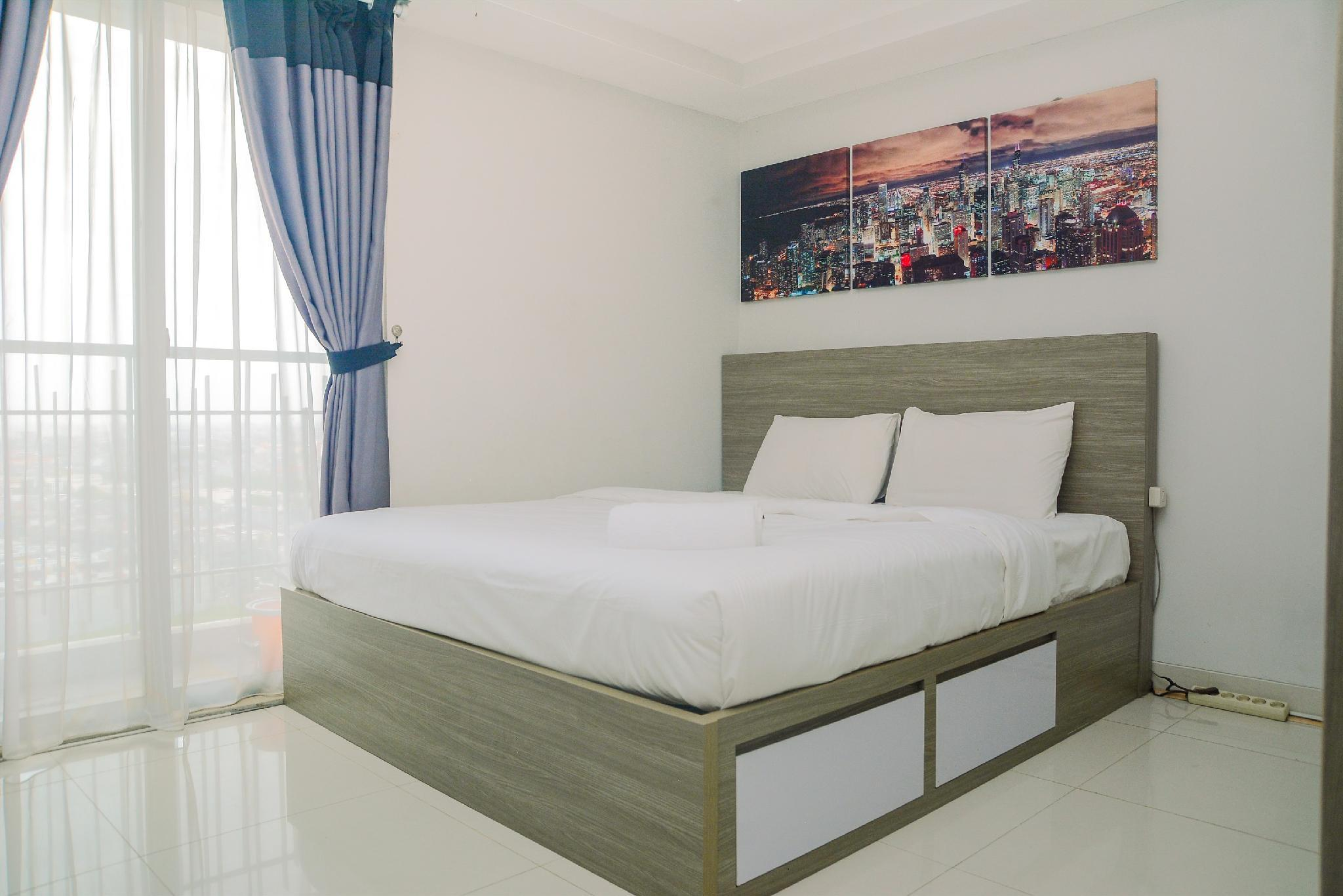1BR At The Mansion Kemayoran Apartment By Travelio