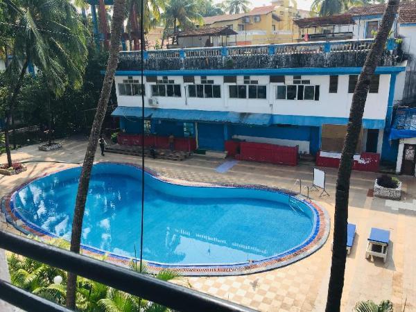 Pool facing 1 BHK 5 mins away from the beach Goa