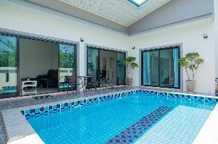[ホアヒン市内中心地]ヴィラ(200m2)| 2ベッドルーム/2バスルーム Blue heaven pool villa huahin