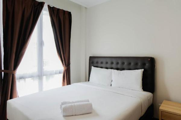 Homey and Simple 1BR @Asatti Apartment By Travelio Tangerang