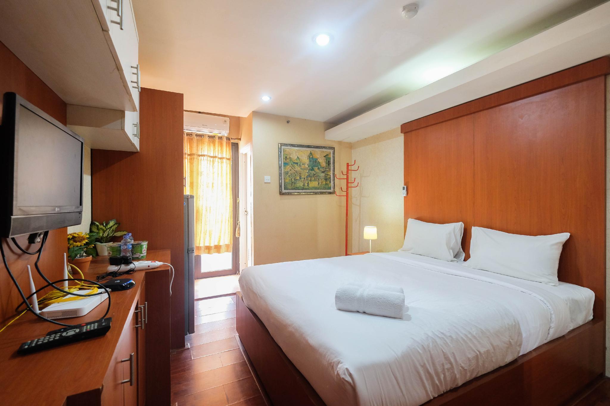 Comfy Studio Apartment Kebagusan City By Travelio