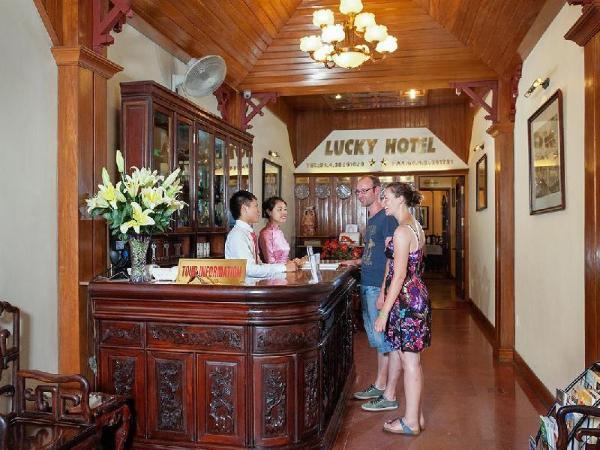 Lucky Hotel Hang Trong Street Hanoi