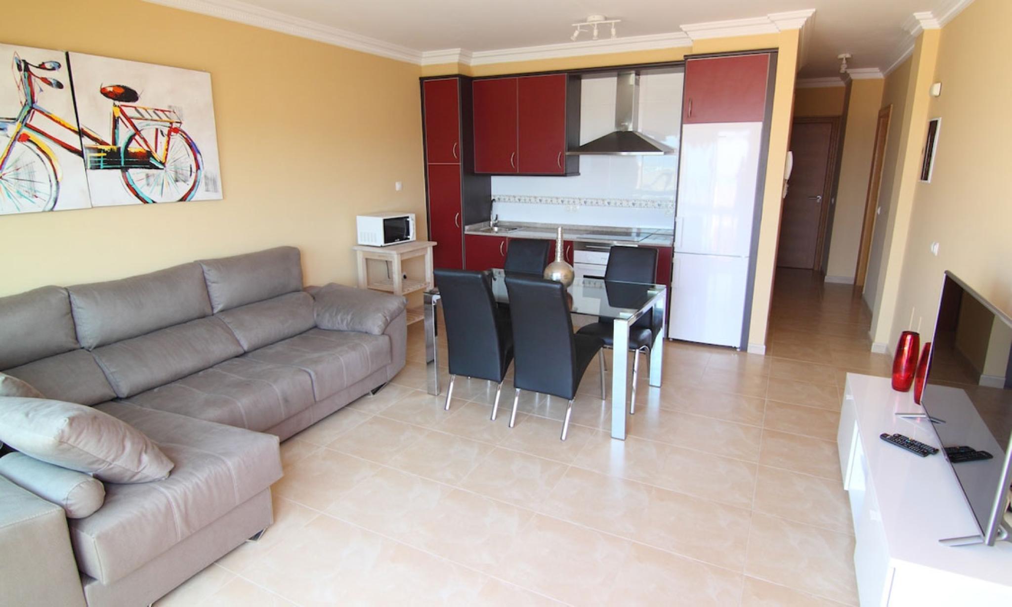 107474   Apartment In La Oliva