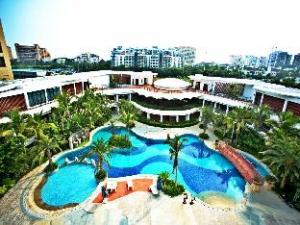 sanyabay xinjiang building resort hotel