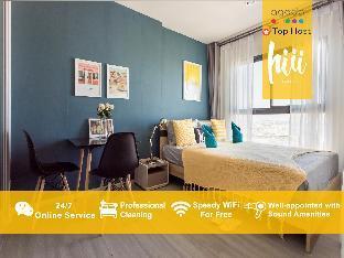 [トンブリー]アパートメント(30m2)| 1ベッドルーム/1バスルーム [hiii]Late Blue Night*LuxuryPool & Gym-BKK216