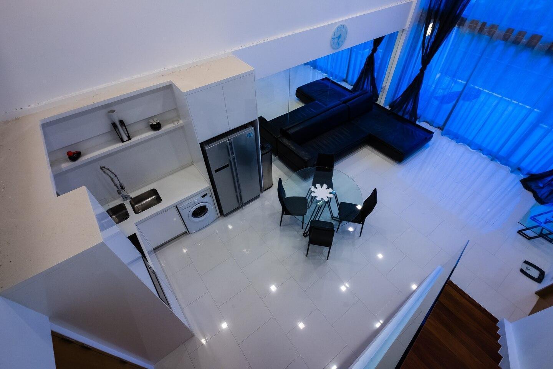 Luxury Penthouse with stunning view อพาร์ตเมนต์ 2 ห้องนอน 2 ห้องน้ำส่วนตัว ขนาด 120 ตร.ม. – นาเกลือ/บางละมุง