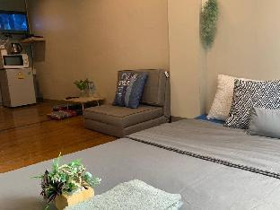 [ラチャダーピセーク]アパートメント(30m2)| 1ベッドルーム/1バスルーム Cozy 4pax MRT Phraram9, 2Central Rama9 Mall