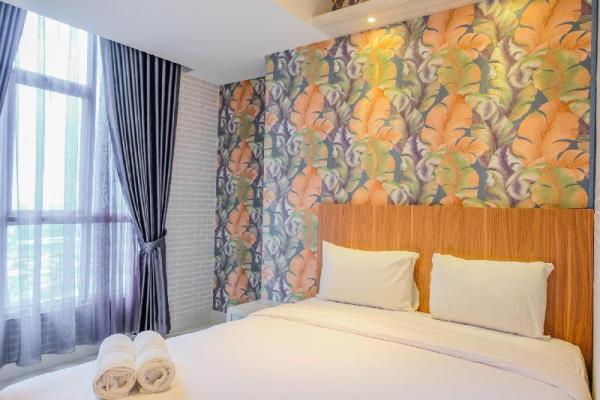 Stylish 1BR at Roseville Apartment By Travelio Tangerang