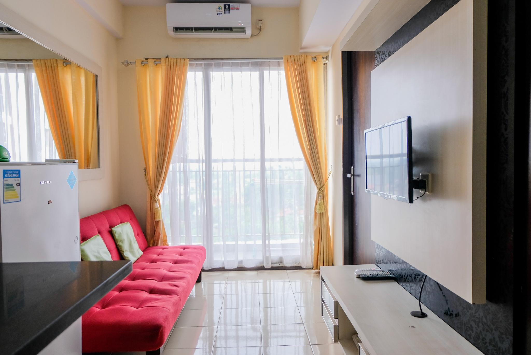 Homey 2BR At Serpong Greenview Apt By Travelio