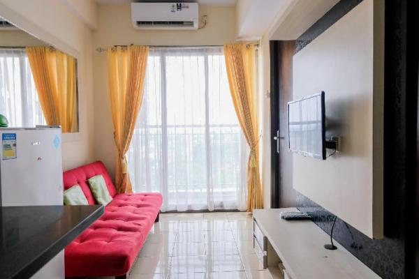 Homey 2BR at Serpong Greenview Apt By Travelio Tangerang