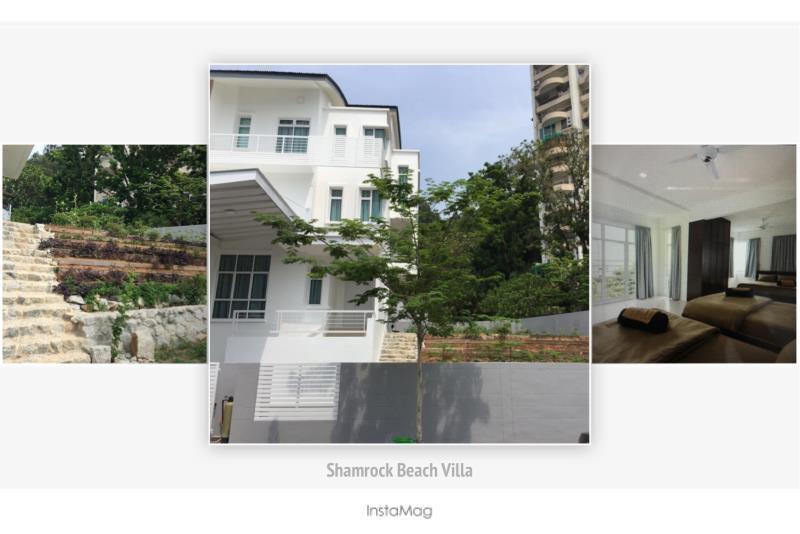 Batu Ferringhi Shamrock Seaview Villa