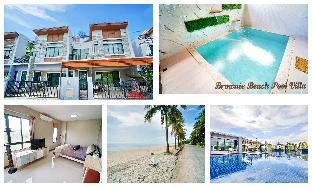 Brownie beach pool villa chaam-Huahin 3 bedroom สตูดิโอ วิลลา 2 ห้องน้ำส่วนตัว ขนาด 215 ตร.ม. – ชายหาดชะอำ