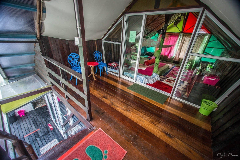 Stranded Cabin By The River   Pinggir Siak