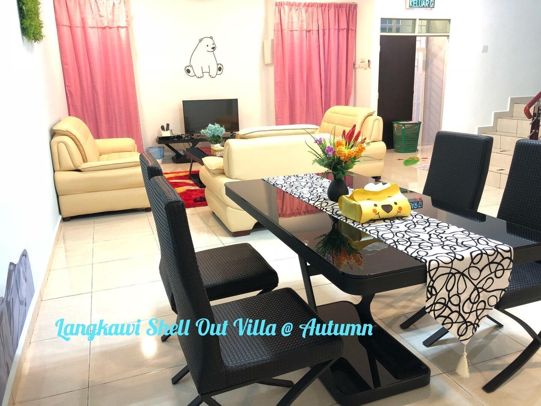 Langkawi Shell 0ut Villa @ Autumn