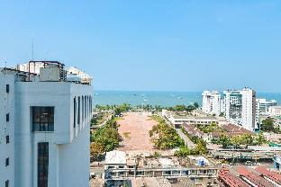 [パタヤ中心地]アパートメント(30m2)| 1ベッドルーム/1バスルーム Central Sea Central area of Pattaya (city view)