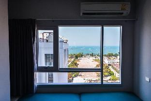 [パタヤ中心地]アパートメント(30m2)| 1ベッドルーム/1バスルーム (Seaview2) Central Sea Apartment