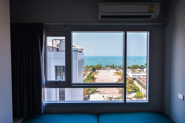 (Seaview2) Central Sea Apartment อพาร์ตเมนต์ 1 ห้องนอน 1 ห้องน้ำส่วนตัว ขนาด 30 ตร.ม. – พัทยากลาง