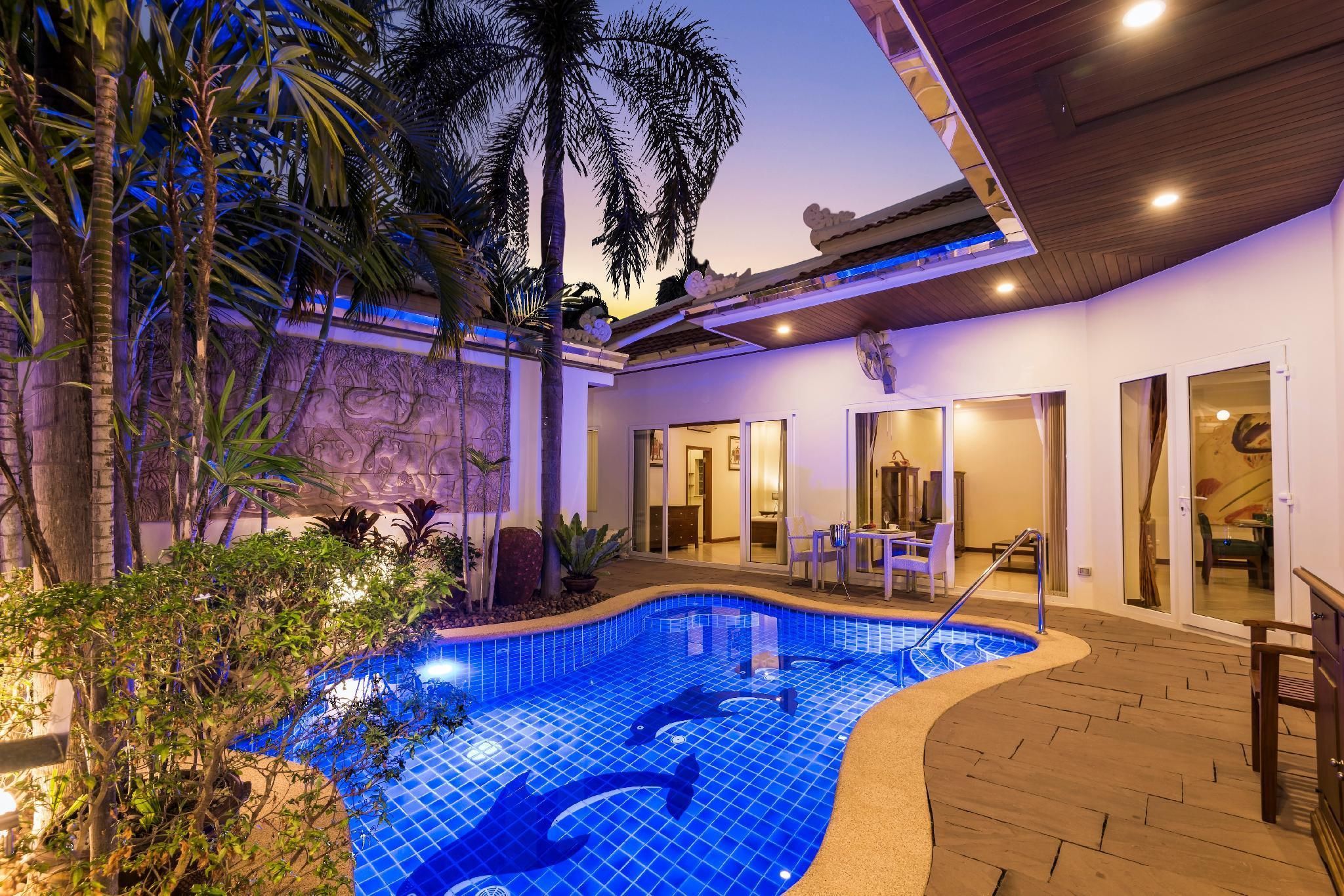 *****Luxury 3BR Pool Villa Pratamnak 50m To Beach