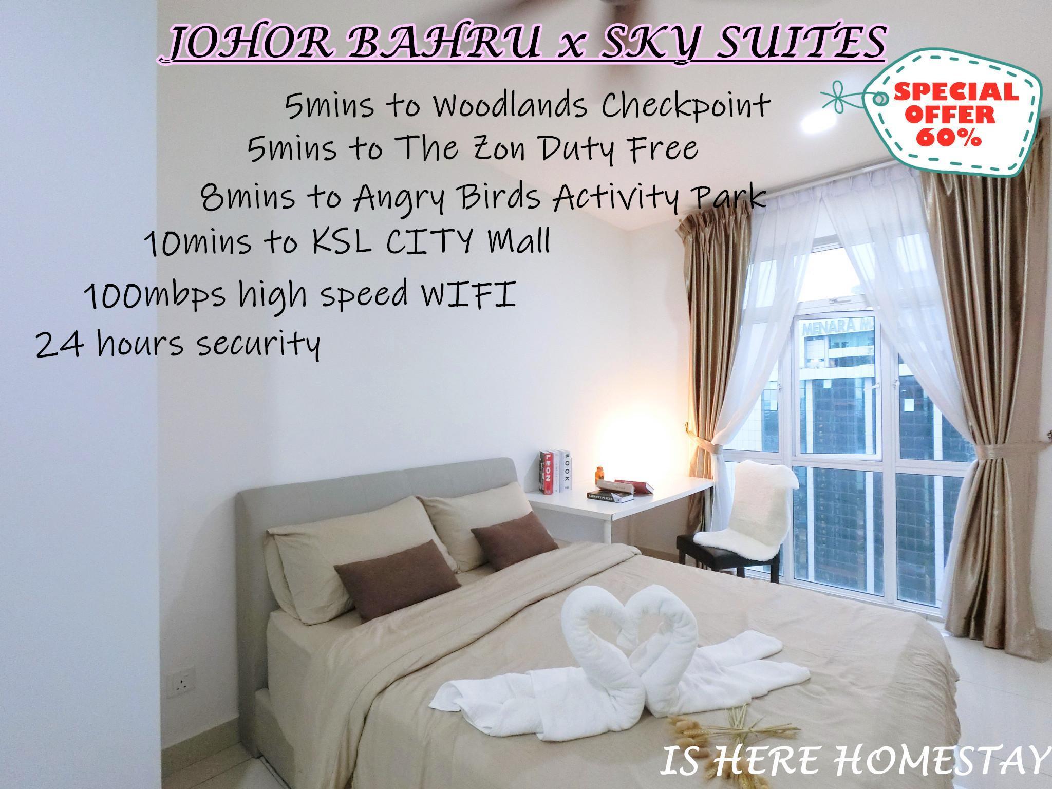 CIQ  RandF  Sky Suites  Meldrum Hills @ Johor Bahru