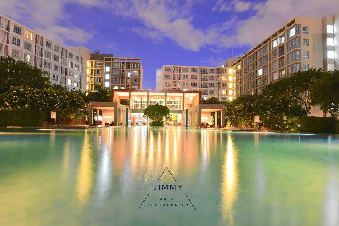 1BR Pool View @central Festival + Airport Pickup