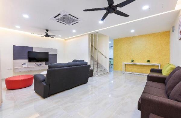 668Homestay Tmn Sentosa (17Bed) New Mid Valley Johor Bahru