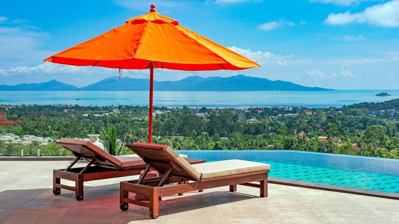 Villa Ying Yang 4 Bed/4 Bath, Seaview Luxury, Pool วิลลา 4 ห้องนอน 4 ห้องน้ำส่วนตัว ขนาด 300 ตร.ม. – หาดบ่อผุด