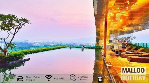 Bright Airport Transfer Washer - Netflix - Pool Chiang Mai