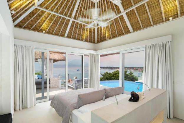 Rumah Putih Nusa Lembongan