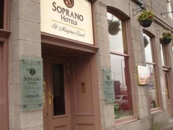 Soprano St Magnus Court Hotel Aberdeen