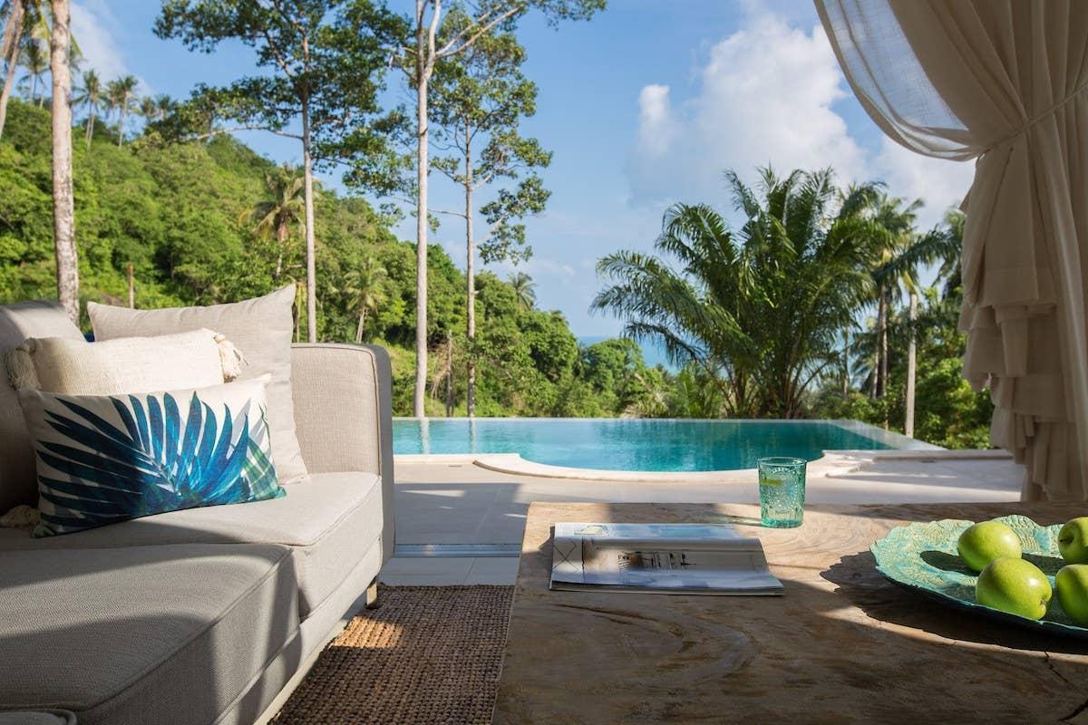 Modern Sea View Villa in Lamai - Long Term Welcome วิลลา 3 ห้องนอน 3 ห้องน้ำส่วนตัว ขนาด 500 ตร.ม. – หาดละไม
