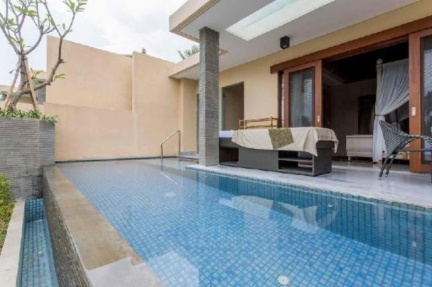 1BR Foxy Private Villa + Breakfast + Pool @Ubud